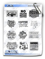 Coffee Sentiments sheet.