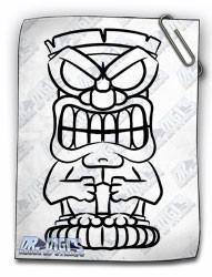 Tiki Head 01